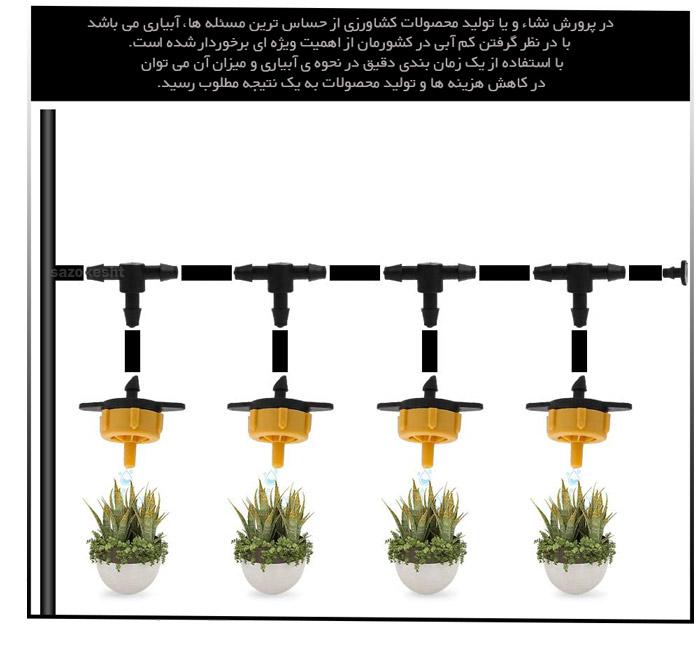 دلایل استفاده از بوم ابیاری گلخانه