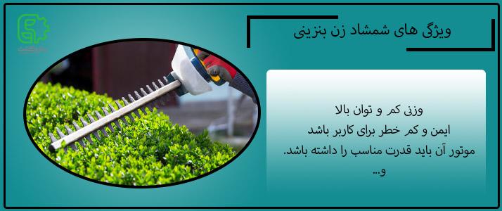 ویژگی های شمشاد زن بنزینی